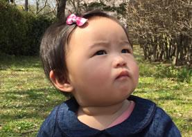 吉成寿里ちゃんの写真