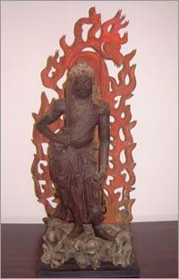 『木造不動明王立像』の画像