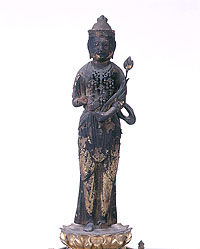 『木造聖観音菩薩立像』の画像