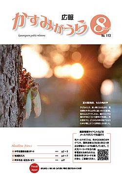 『広報かすみがうらNo113 2014年8月号(8月20日発行)』の画像