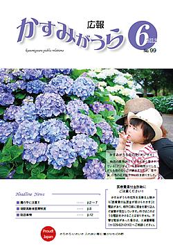 『広報かすみがうらNo99 2013年6月号(6月20日発行)』の画像