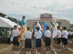 中学校体育祭2