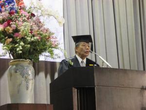 東風高校卒業式3