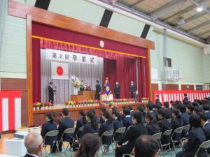 『中学校卒業式』の画像