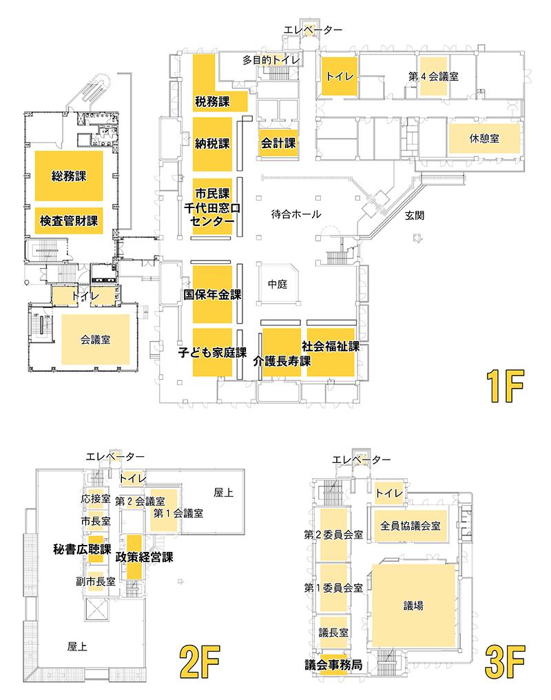 『千代田庁舎H28』の画像