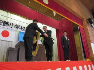 『下大津・安飾小学校閉校式3』の画像