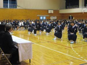 中学校入学式2