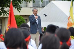 『千代田中学校体育祭1』の画像
