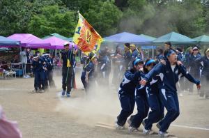 『千代田中学校体育祭2』の画像