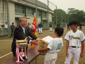 市長杯少年ソフトボール大会2