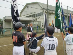 市長杯少年ソフトボール大会3