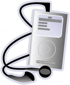 『携帯音楽プレーヤー』の画像