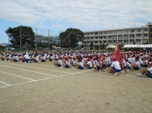 中学校体育祭(2)