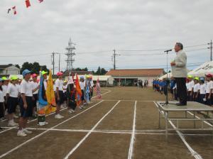 『中学校体育祭(3)』の画像