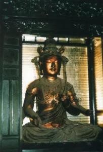 木造十一面観音菩薩坐像