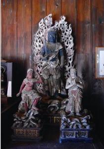 『不動明王像および二童子立像』の画像