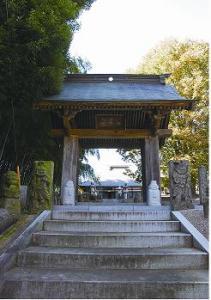 『長興寺山門と本堂』の画像
