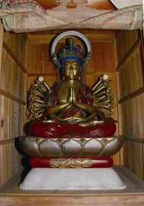 『木造千手観音菩薩坐像』の画像
