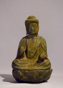 『銅造薬師如来懸仏』の画像
