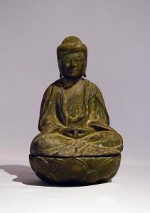 『銅造阿弥陀如来懸仏』の画像
