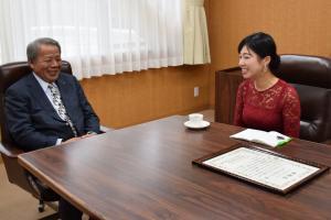 『ふるさと大使表敬訪問』の画像