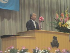 千代田中卒業式1