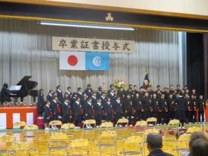 千代田中卒業式3