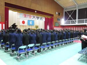 中学校入学2