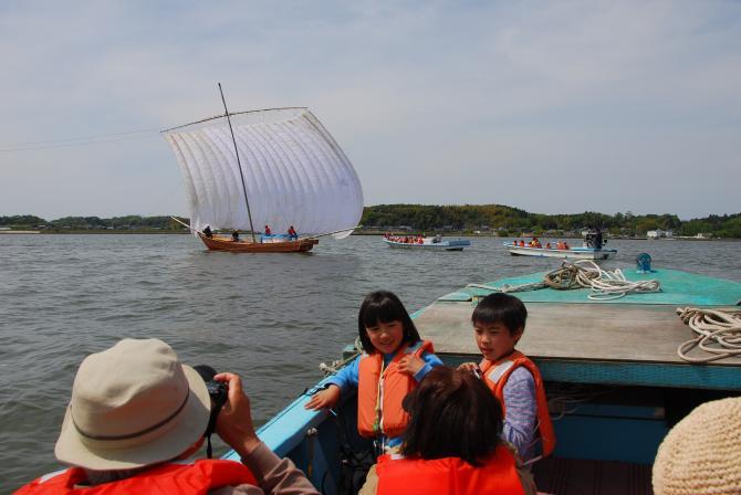 『帆引き船フェスタ2017その39』の画像
