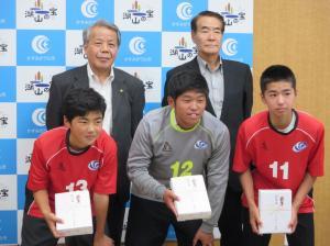 中学生サッカー