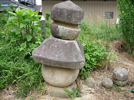 『石造五輪塔(中佐谷)』の画像