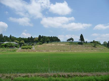 笠松城跡 width=
