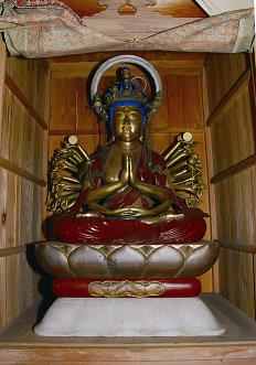 『木造千手観音菩薩坐像2』の画像