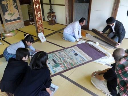 指定文化財一斉公開事前学習会【高校生会】05
