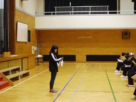 中学校説明会を行いました【高校生会】02