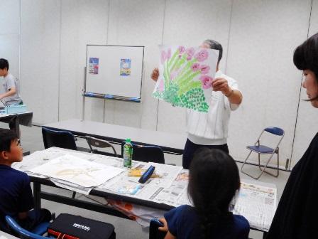 【夏休み絵画教室!】霞中地区公民館_06