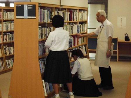 【図書館 職場体験】図書館_02