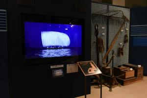 博物館1階映像