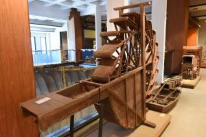 博物館2階民具