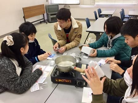 【記事】291126高校生会 料理、キャンドル6