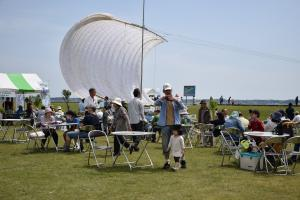 『帆引き船実物展示』の画像