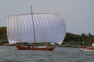 『帆引き船操業』の画像