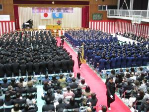 下中卒業式3