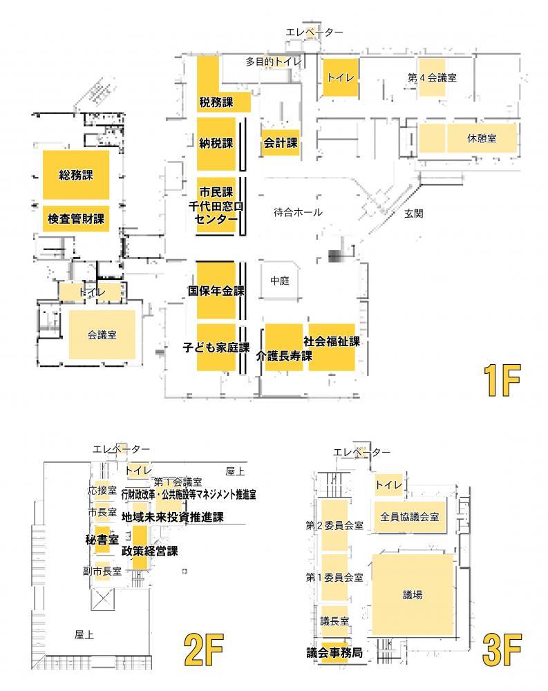『千代田庁舎H30』の画像