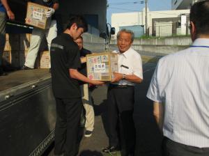 被災地物資支援1