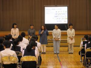 『千代田中出前講座写真(1)』の画像