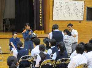 『千代田中出前講座写真(5)』の画像