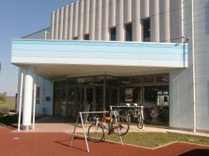 交流センター(サイクルラック設置)