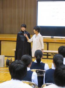 『千代田中出前講座写真(3)』の画像