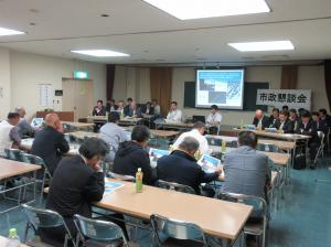 『H301012市政懇談会(千代田公民館)』の画像